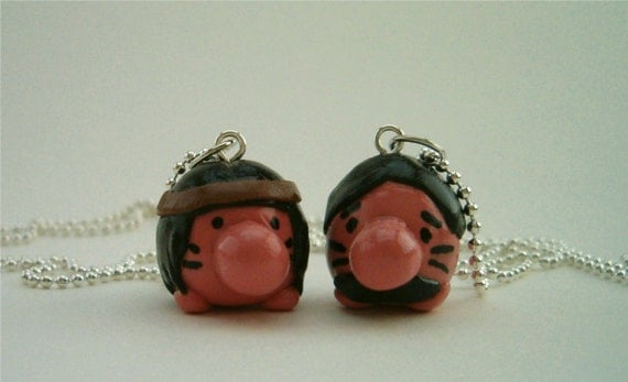 Mr. Saturn Best Friend Necklaces