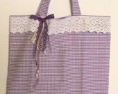Miss Violetta the II, shopping bag