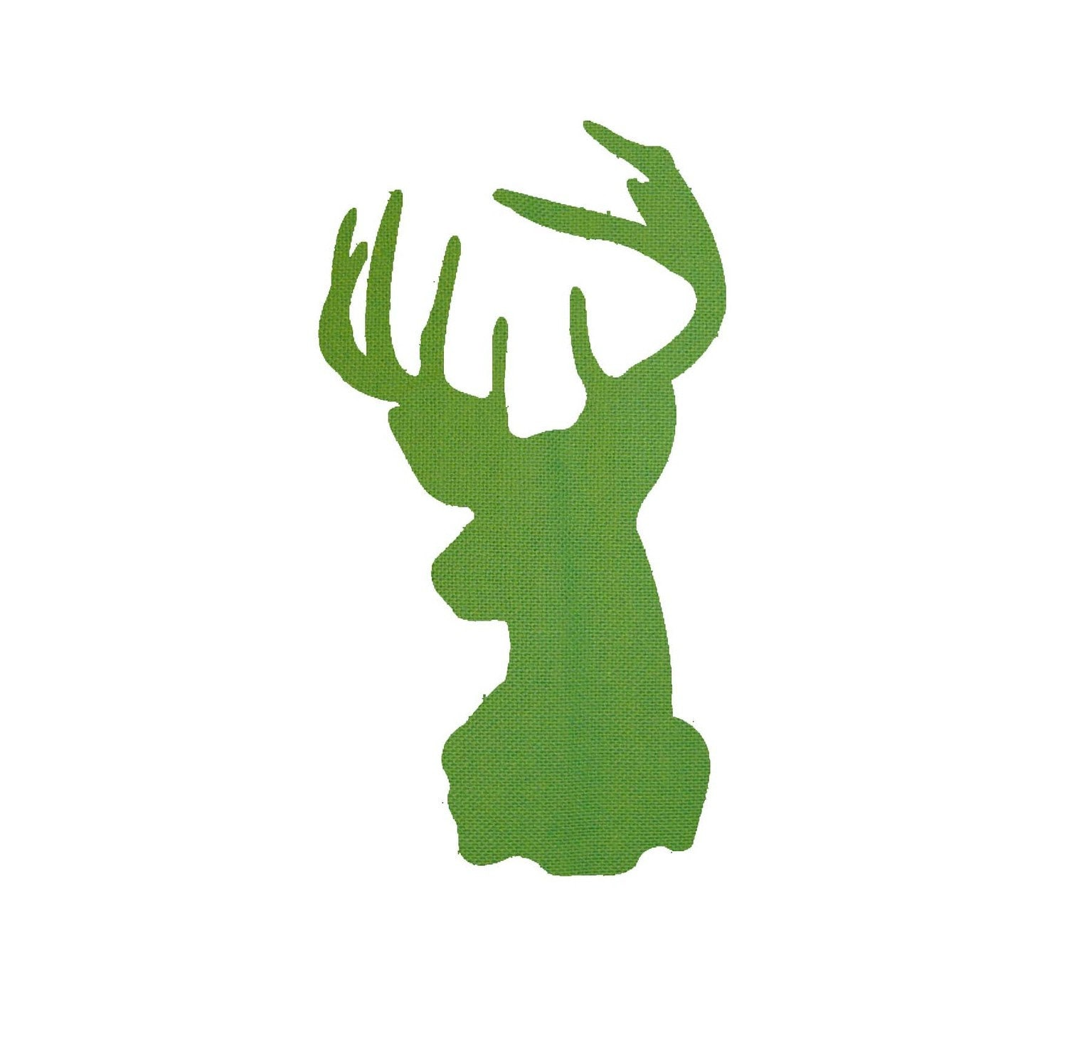 Deer Head Applique Template/Pattern with Tutorial by davidsmommy