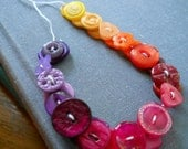 28pc. String of little bright buttons