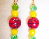 U of O Basketball Earrings