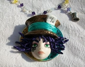 CLEARANCE SALE - The Mad Hatter - Alice in Wonderland Collection OOAK