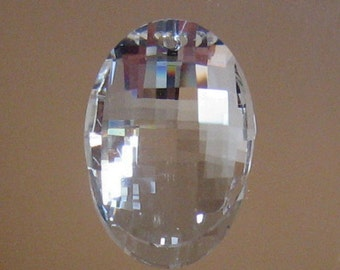 32mm Oval Crystal