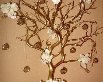 Crystal Manzanita Tree - Golden Hydrangea