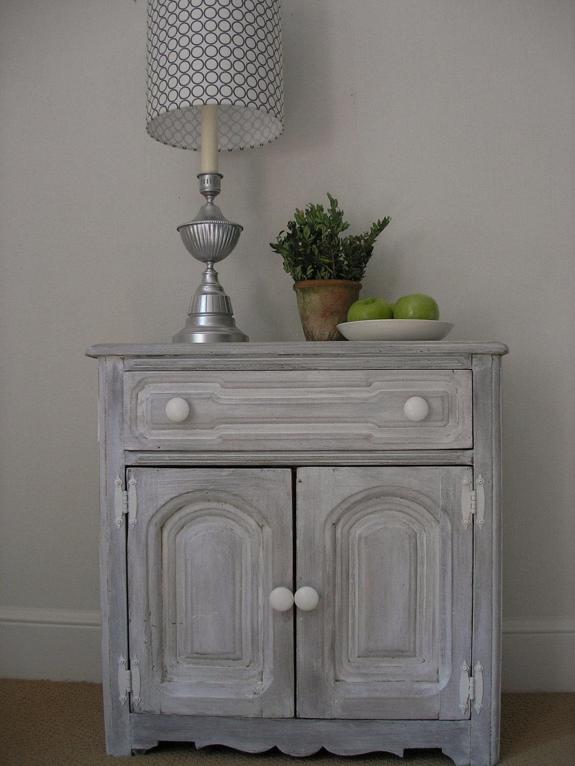 White Washed Cabinet