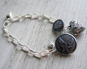 Reserved U.S. Air Force charm - bracelet
