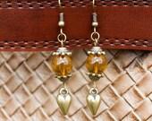 autumn love earrings
