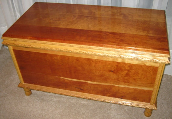 Cherry and Oak Heirloom Quality Chest