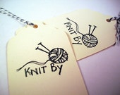 Knitting Thank You Tags for Knitters and Knitting Shops - SweetandSassyCards