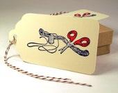 Sewing Tag Sewer Hang Tag Customer Thank You 10 tags