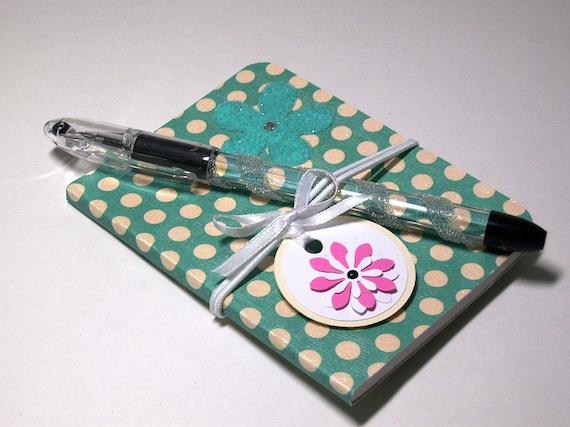 Notebook Pen Mini Notebook Set