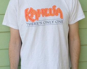 Vintage Kahlua T-shirt  // 1980s