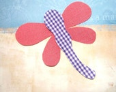 Iron On Fabric Applique - Dragon Fly
