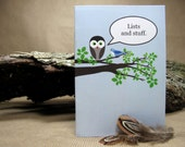 Owls Talk Notebooks