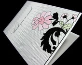 Mod Flower Notecards