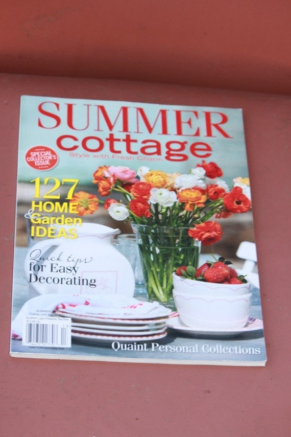 Summer Cottage Magazine Style With Fresh Charm By