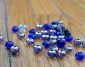 Faceted Bead Lot