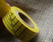 Yellow Measuring Tape Sticker Roll 3/4 inch Wide