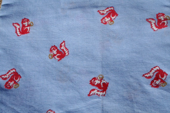 Squirrel Fabric Textured FAT QUARTER