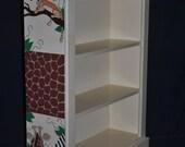Bookcase - In The Jungle Design