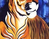 Tiger (Limited Edition Arizona Print) 8 x 10 inches