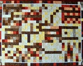 Autumn Night Quilted Wall Hanging