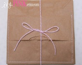 Paper Bag Pocket set of 3 for SMASH book journal