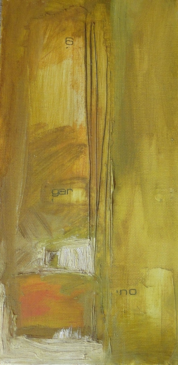 Abstract Oil Painting Original Contemporary