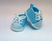 Fondant Baby Converse cake Topper for any Baby celebration, Great Baptism cake idea, or Christening,  Baby Shower