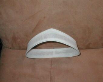 Vintage Buckram Bridal Headpiece Form