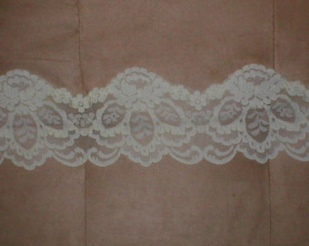 Vintage Alencon  Lace Border from the1950's