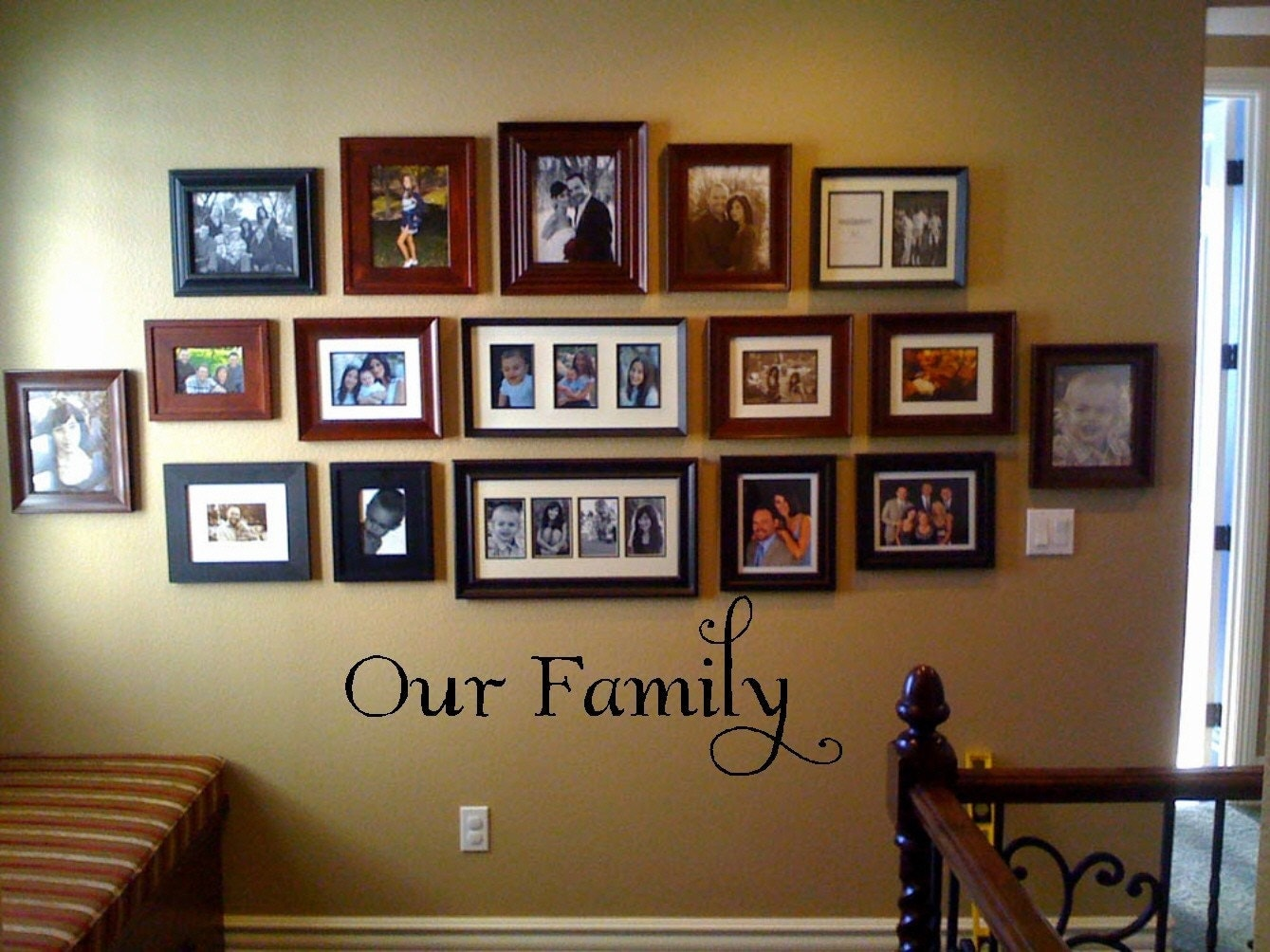 Family Wall Decor Family Wall Art  Crafthubs