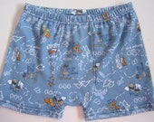 Boy's Boxer Brief  Moose with Shoes size 3 4