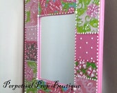 Pearls and Preps - Lilly Pulitzer prints Mirror