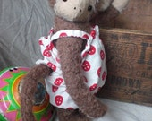 Cute Monkey Vintage Style Mohair Toy PDF Pattern and full instructions