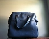 Vintage Starflite Faux Leather Carry-On Bag
