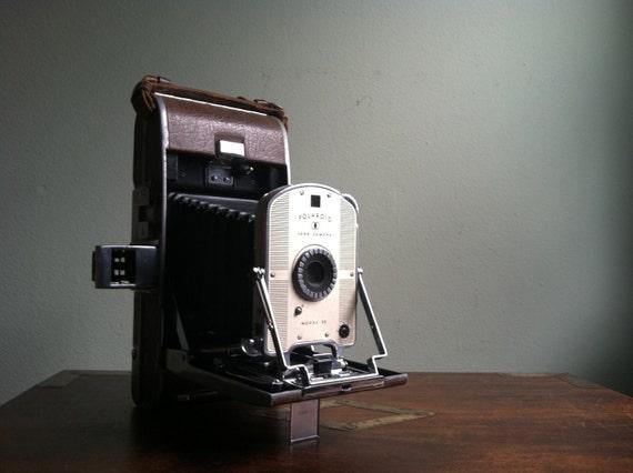Original Polaroid Land Camera Model 95 - Late 1940s