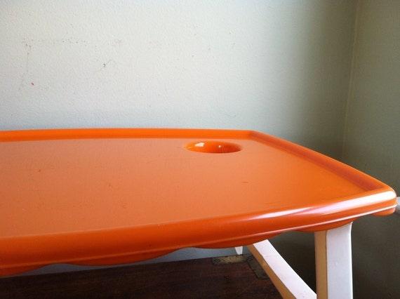 Breakfast in Bed Tray - Super 70s Orange