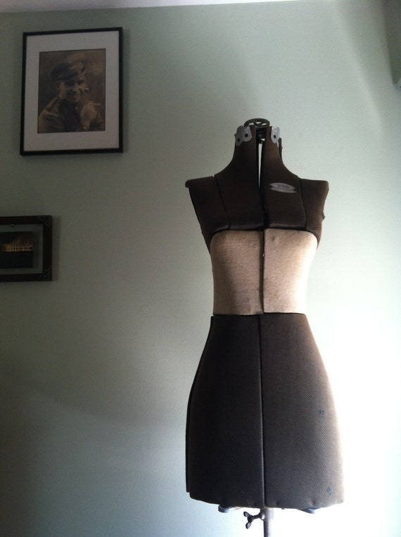 RESERVED for upotoga - Vintage Dress Form by White Size 1 - 32 to 42