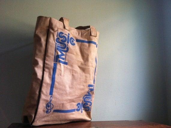 Vintage Canvas Music Bag
