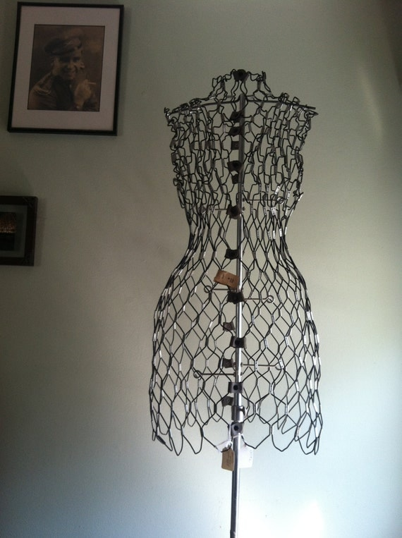 Vintage Wire Dress Form Size A The Dritz My Double
