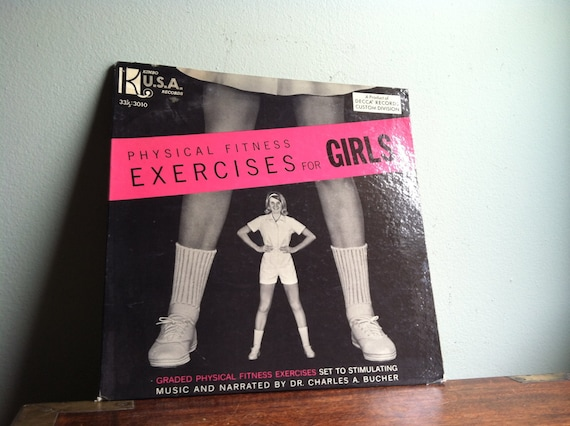 Physical Fitness Exercises for Girls LP