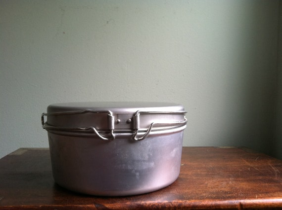 Vintage Camping Cooking Kit