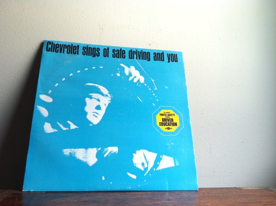 Chevrolet Sings of Safe Driving and You LP