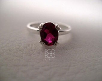 Ruby Ring - Lab Ruby