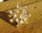 Vintage RHINESTONE 50s BROOCH Beautiful and Unique