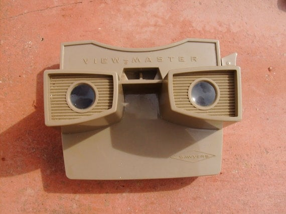 VIEWMASTER 50s toy Retro Design Decor VINTAGE TOY