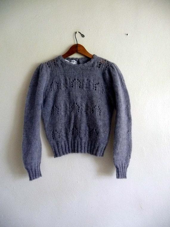 gray grey sweater