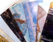 Recycled Monet Calendar Envelopes