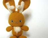 Amigurumi Crochet Baby Jackalope Pattern